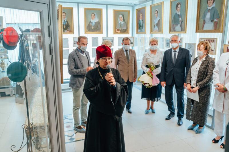 В Тверском клиническом перинатальном центре расширили Музей сестры милосердия Екатерины Бакуниной