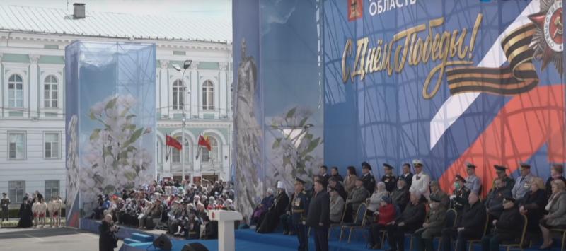 В Твери проходят торжества в честь 76-ой годовщины Великой Победы