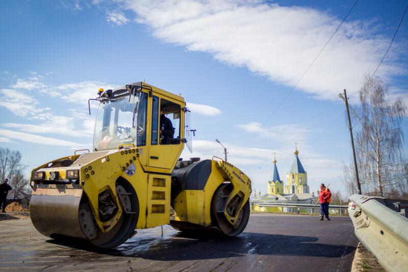 В Лихославле завершился ремонт участка Октябрьской улицы