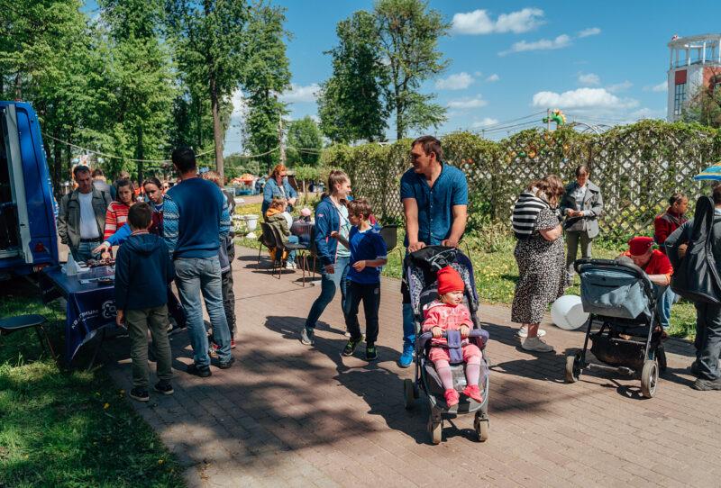 В Твери завершился первый день фестиваля «Площадь Добра»