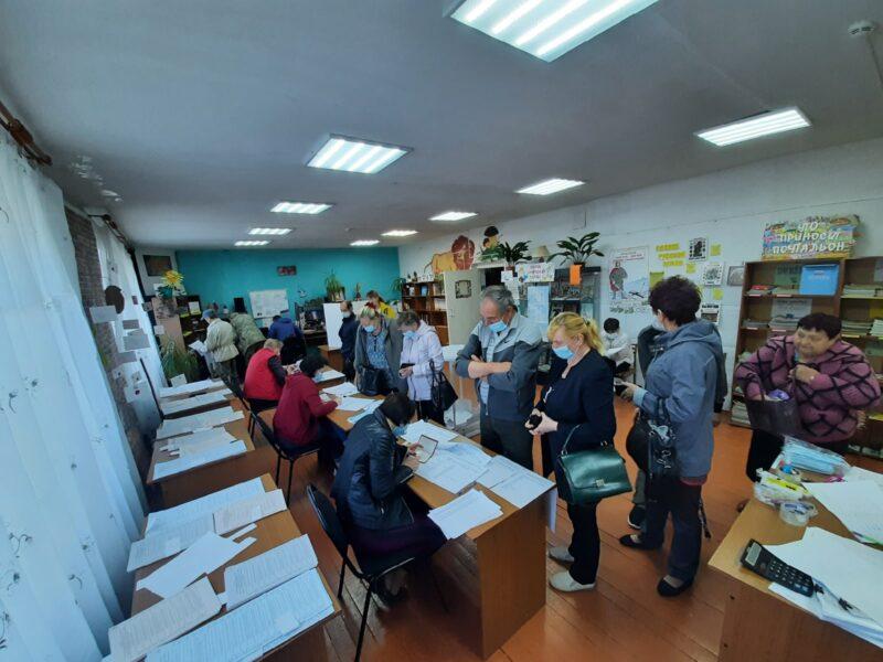 В Пеновском МО открыты для голосования избирательные участки
