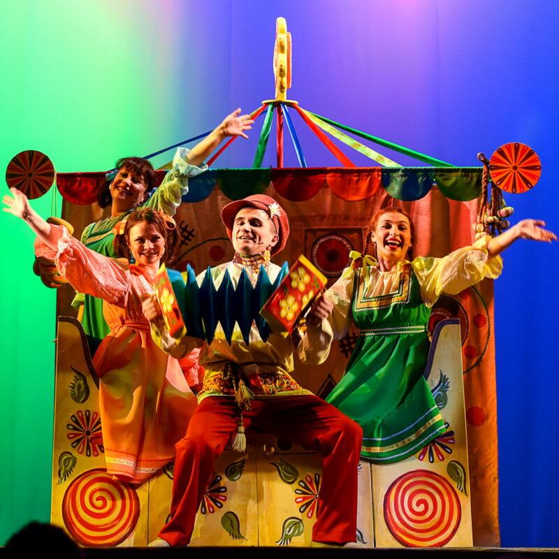 Тверской театр кукол покажет веселую сказку