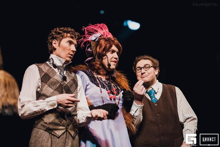 """В Тверском театре драмы покажут спектакль """"Донна Люция, или Здравствуйте, я ваша тетя"""""""