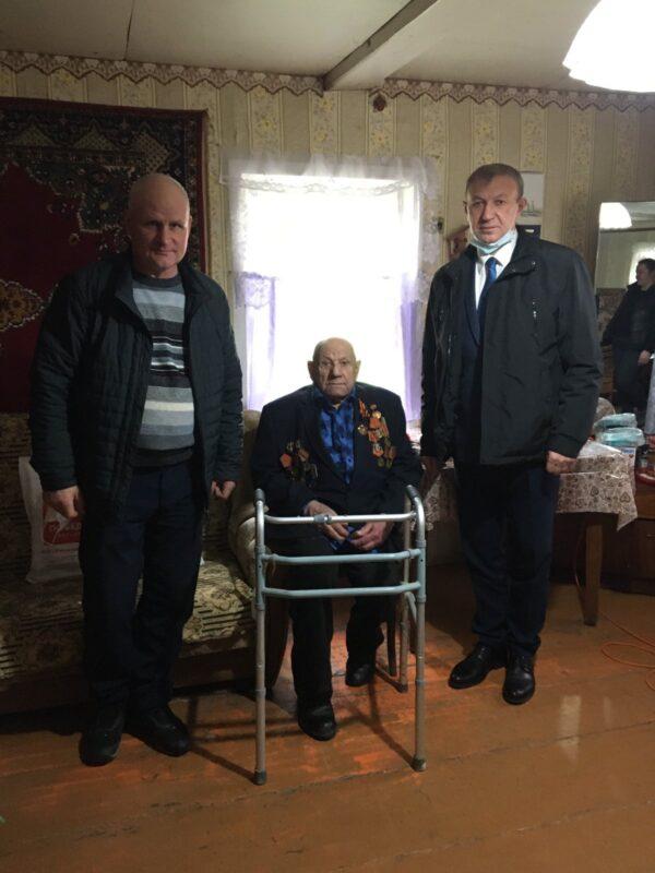 Ветерана из Ржевского района поблагодарили за мирное небо над головой