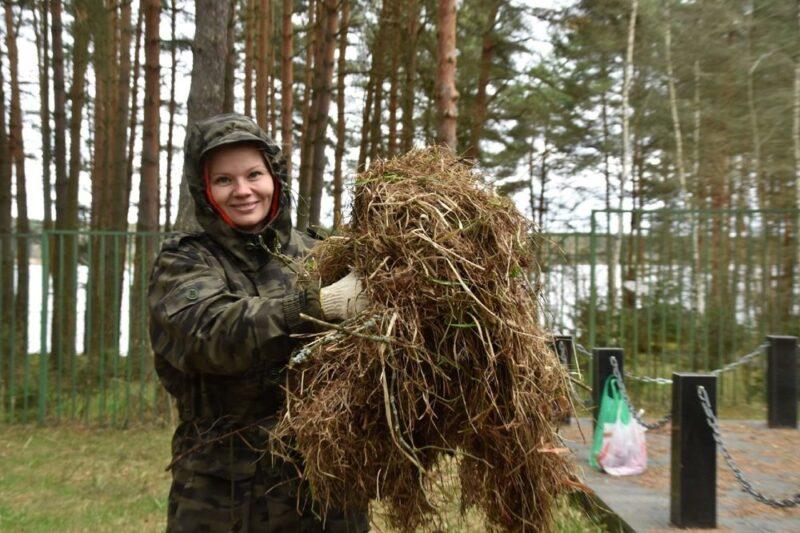 В деревне Терехово Конаковского района привели в порядок территорию воинского захоронения