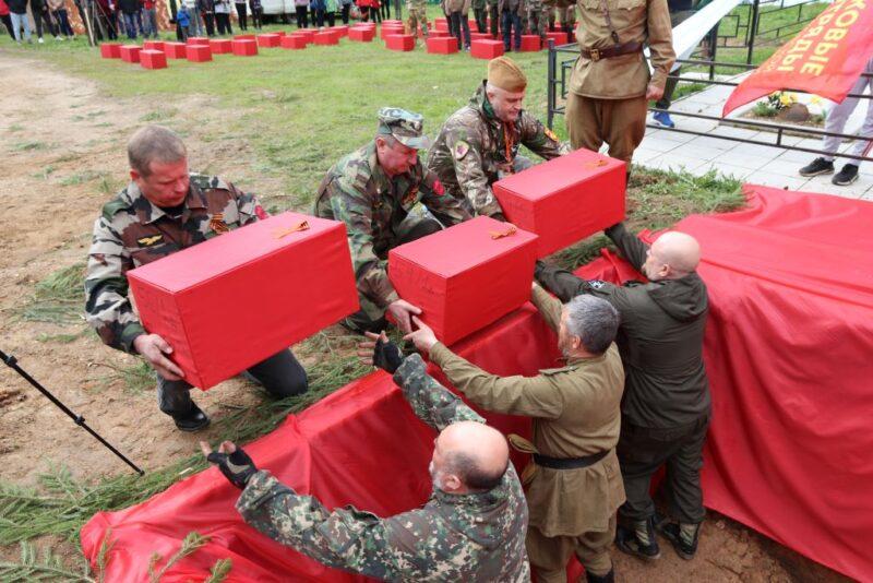 Работы на «Ржевском выступе» подняли 162 советских воина