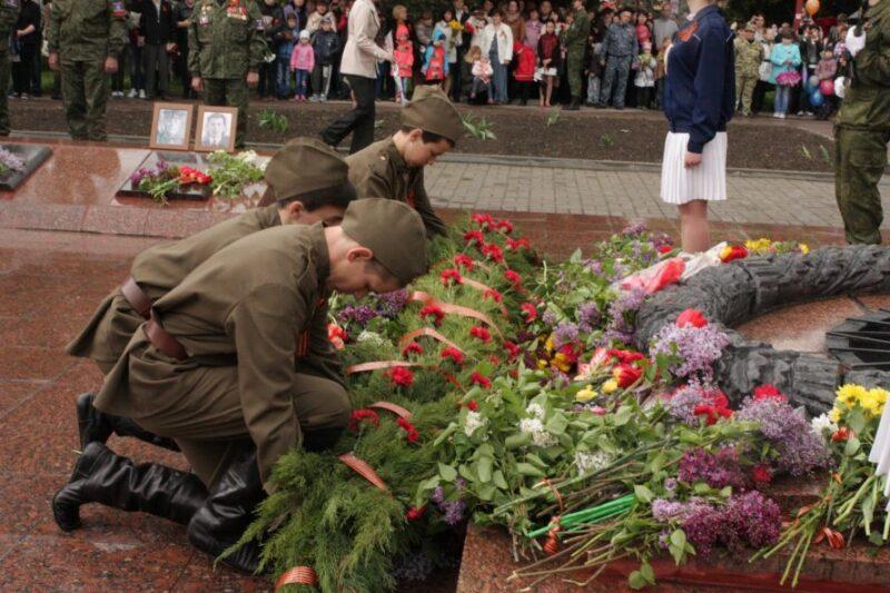 Во Ржевском районе организовали торжественный митинг в честь Дня Победы