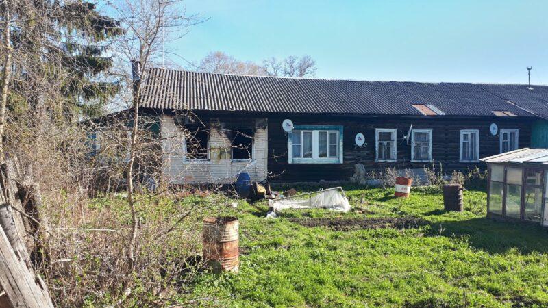 На пожаре в Тверской области погибли двое детей