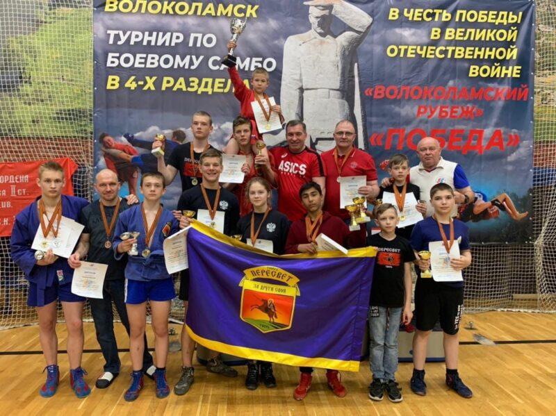 Спортсмены из Конаково смогли завоевать пять медалей на турнире по самбо