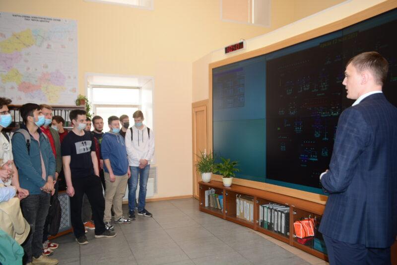 В Тверьэнерго прошёл День открытых дверей для студентов