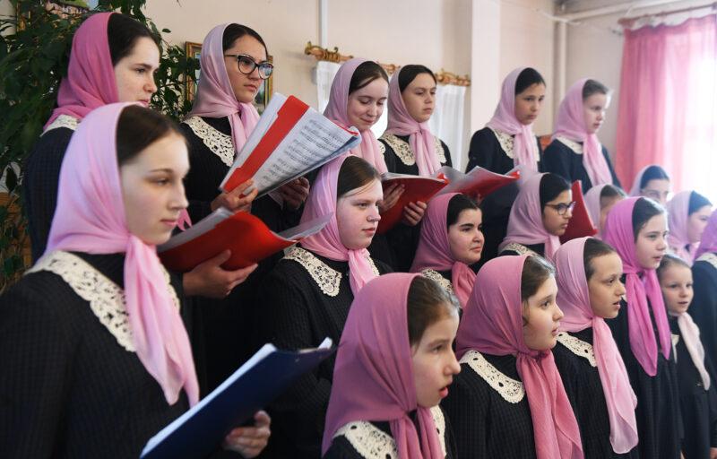 Традиционный концерт в честь Пасхи прошел в Вознесенском монастыре