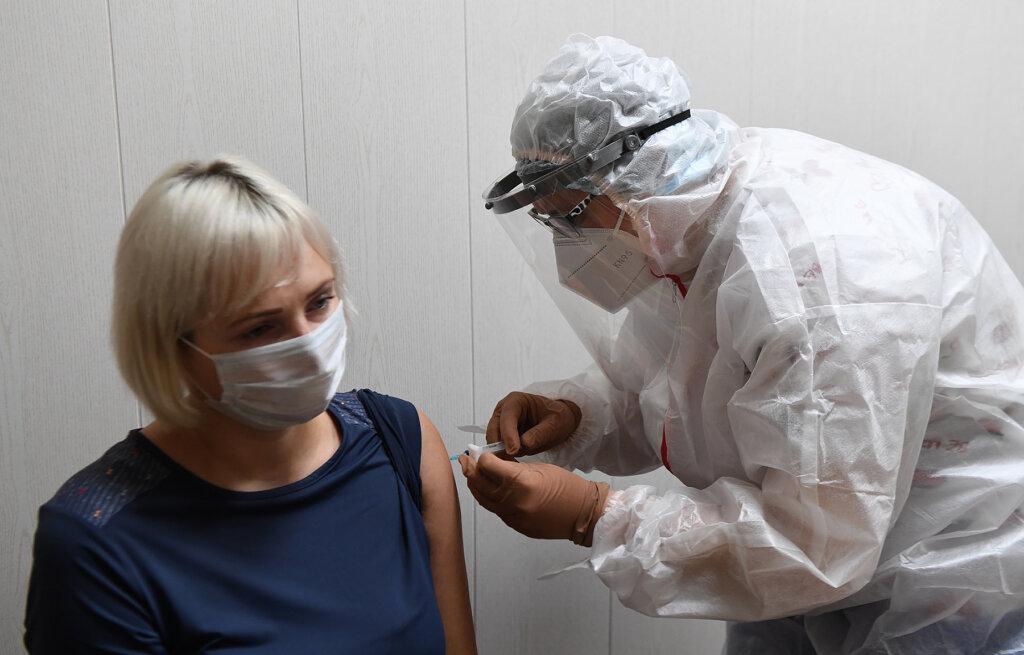 Более 118 тысяч жителей Тверской области привились от коронавируса