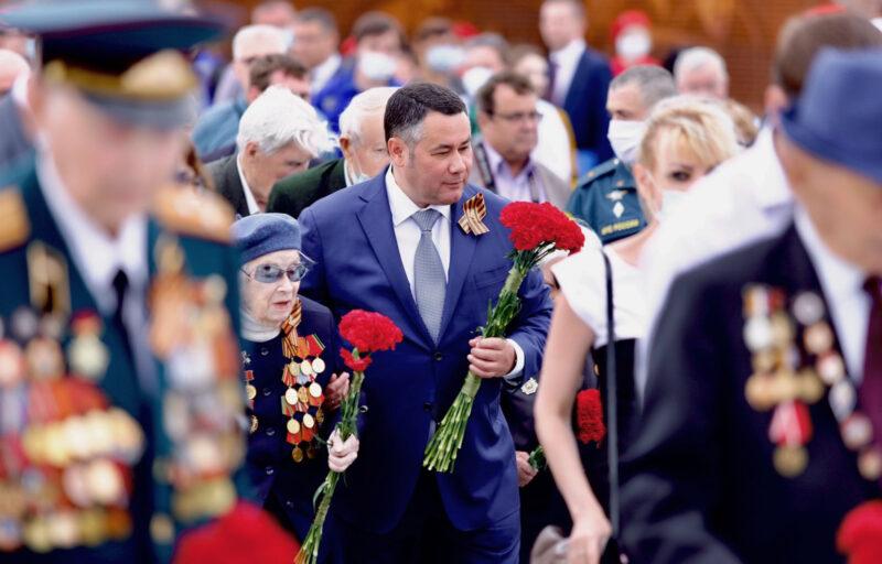 Игорь Руденя поздравил жителей Тверской области с великим Днем Победы