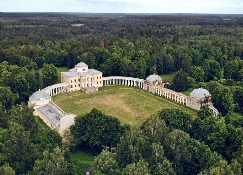 Усадьба Знаменское-Раёк: дворец-ожерелье среди тверских лесов
