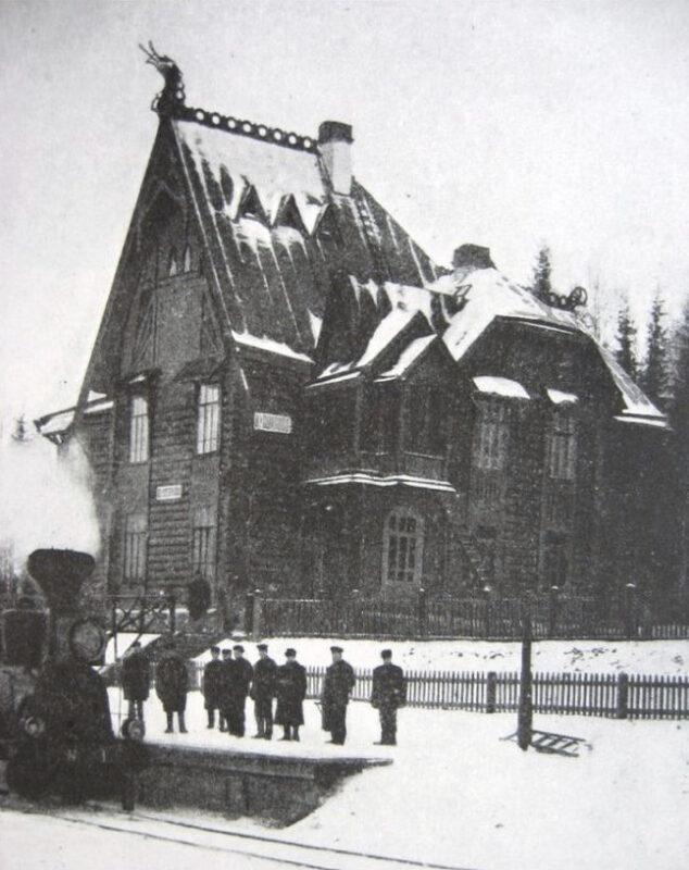 Кувшиновский вокзал попал в объектив Фёдора Савинцева