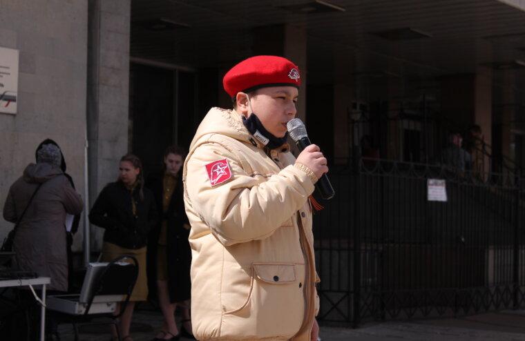 На железнодорожном вокзале Твери отметили праздник Великой Победы