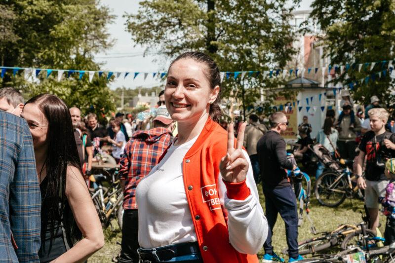 Юлия Саранова рассказала в эфире тверского телеканала, зачем она идет в Госдуму