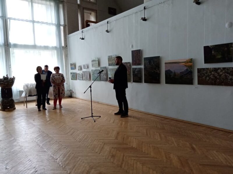 На «Академичке» под Вышним Волочком торжественно завершился Всероссийский пленэр