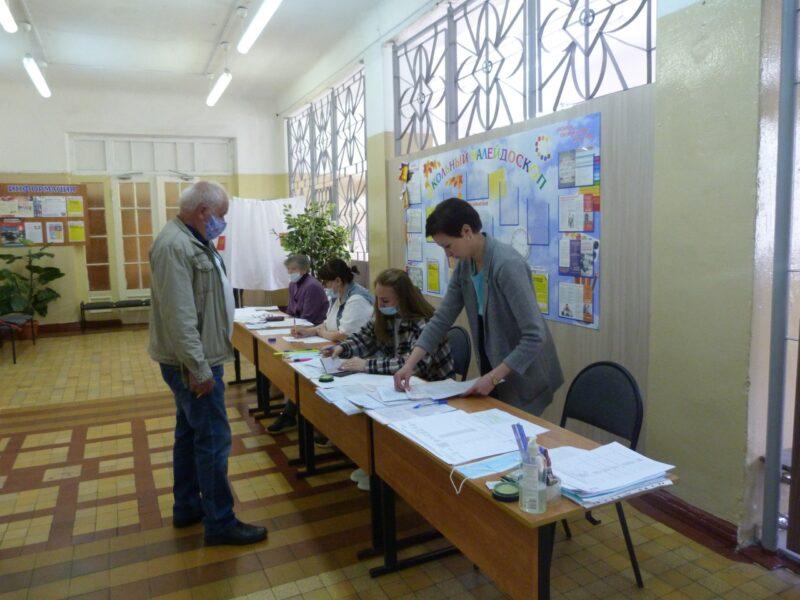 В Нелидовском городском округе открыто 8 участков для голосования