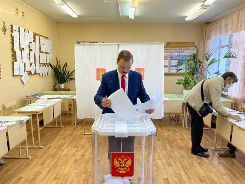 Сергей Веремеенко принял участие в праймериз «Единой России»