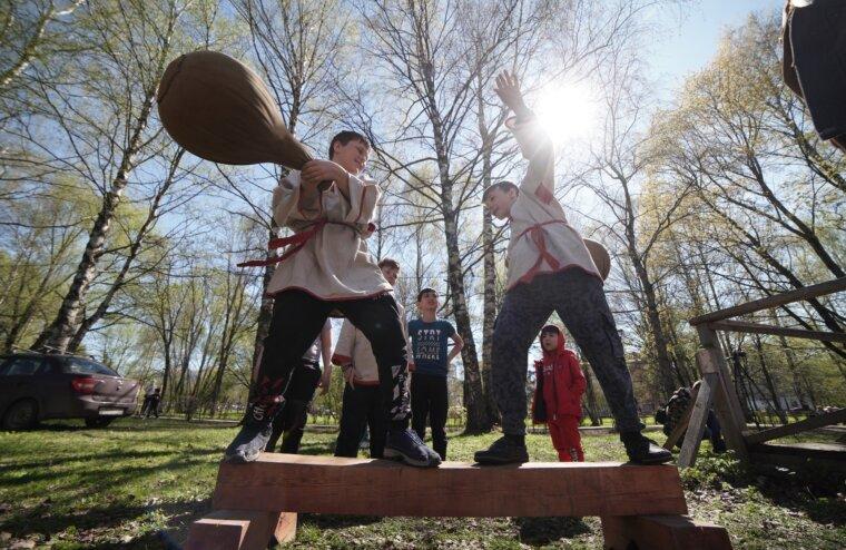 В Твери прошел православный молодежный фестиваль исторического моделирования