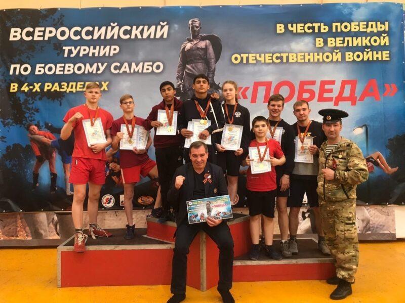 На Всероссийском турнире по самбо в Конаково спортсмены села Городня завоевали медали