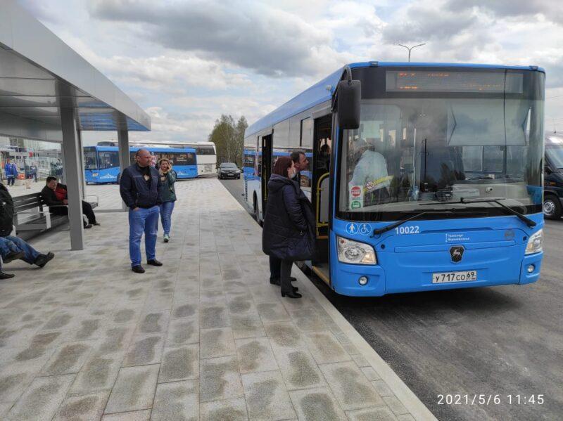 До Ржевского мемориального комплекса теперь можно доехать на автобусе