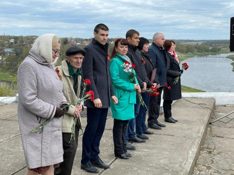 В Тверской области в городах воинской доблести Белом и Зубцове проходят праздничные мероприятия в честь Дня Победы