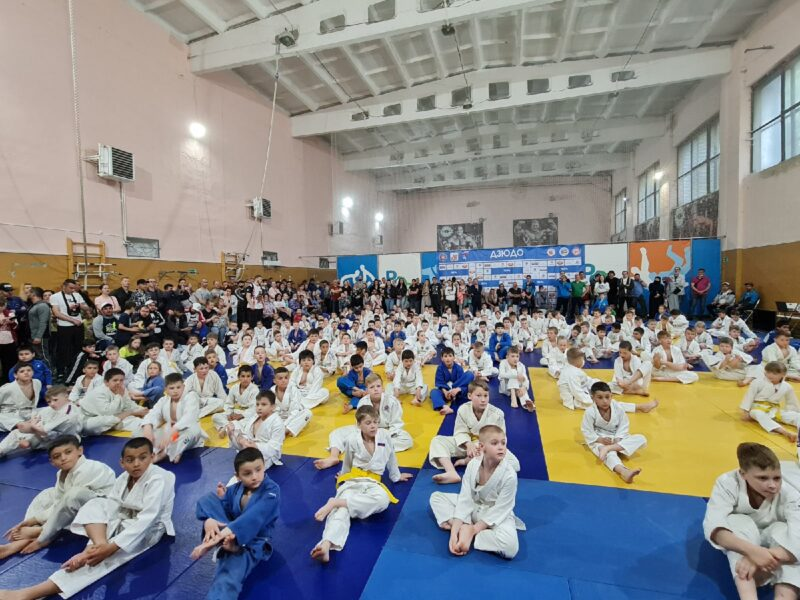 В поселке Редкино Тверской области завершился турнир по дзюдо