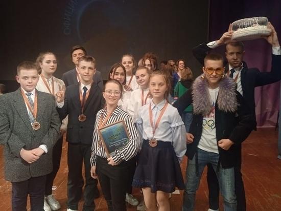 Команда КВН из Оленино вышла призером с юниор-лиги конкурса