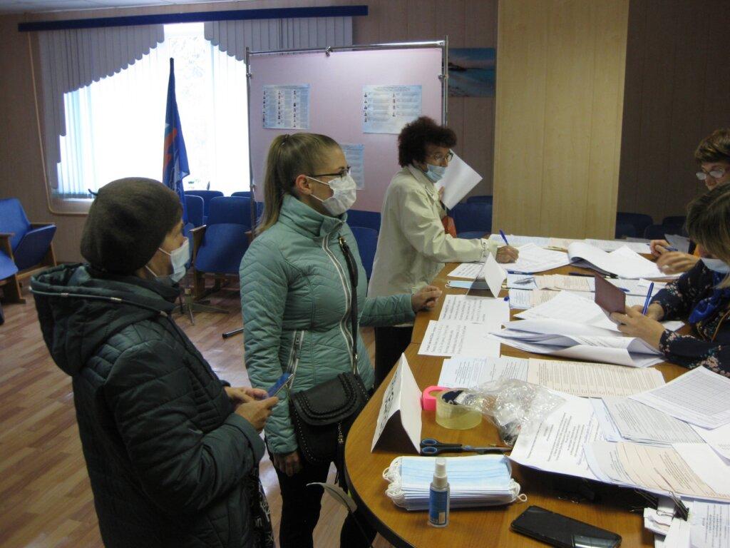 В Рамешках активно идет предварительное голосование
