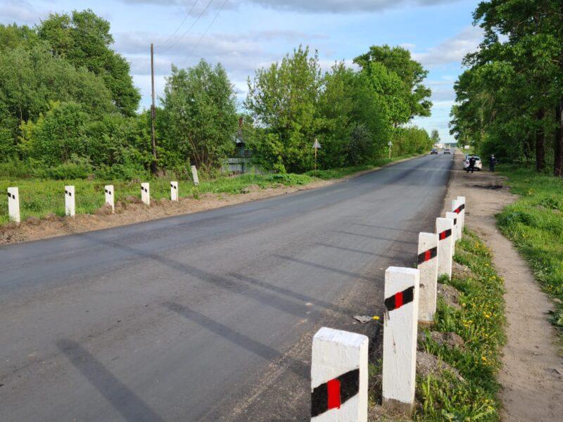 Совместная работа администрации и депутатов «Единой России» привела к ремонту дороги в Калязинском районе