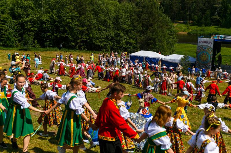 В Василево Тверской области пройдет XXVI Межрегиональный фольклорный праздник «Троицкие гуляния»