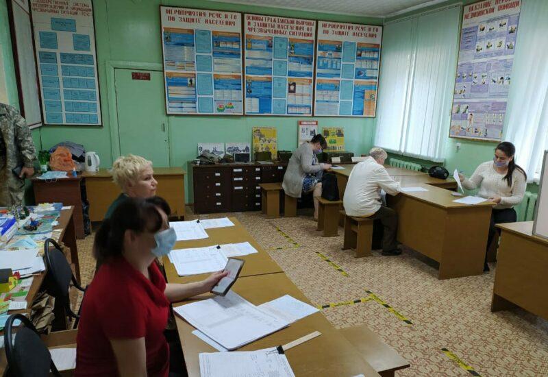В Кимрах открыты выборные участки для предварительного голосования