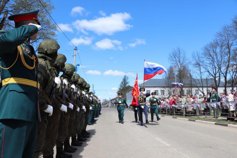 В Торопце в День Победы прошли праздничные мероприятия