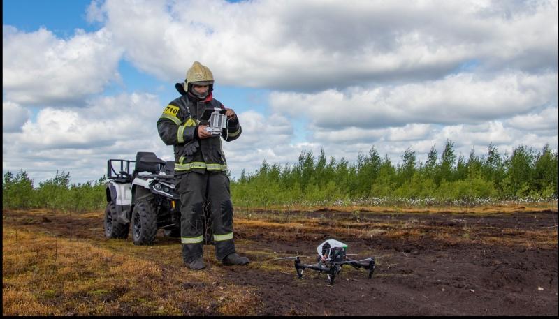 Сотрудники МЧС провели мониторинг месторождений торфа на территории Верхневолжья