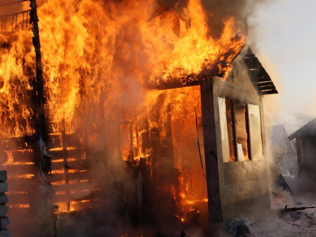 В Тверской области при пожаре погиб мужчина