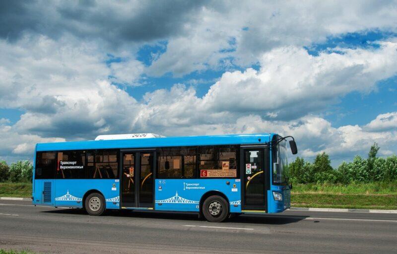 В майские праздники пассажиропоток на пригородных маршрутах «Транспорта Верхневолжья» увеличился в 2,2 раза