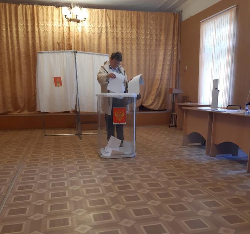 Жители Сандовского МО принимают участие в предварительном голосовании