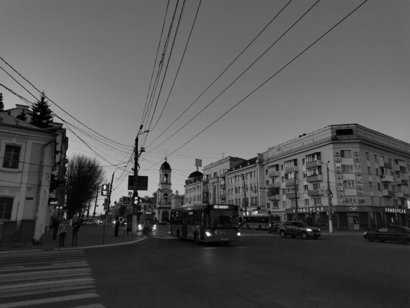 Тверской фотограф показал город в черно-белом цвете