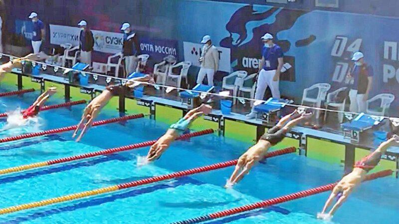 Спортсмен из Тверской области выступил на первенстве России по плаванию