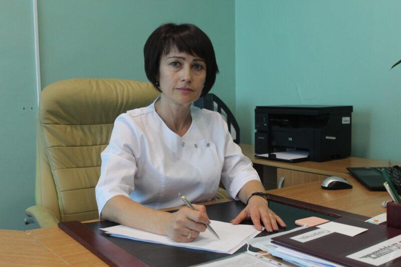Алла Радайкина: У нас открылся ковидный госпиталь, где смогли быстрее получить помощь жители нескольких районов