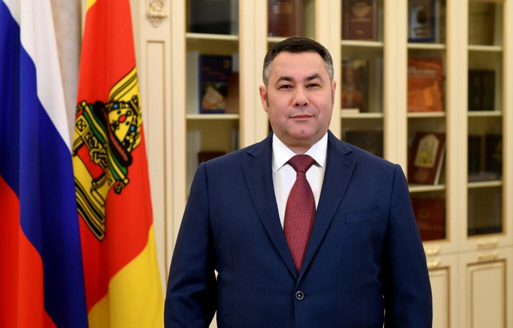 Губернатор Игорь Руденя закрепился в топ-3 глав регионов ЦФО за май
