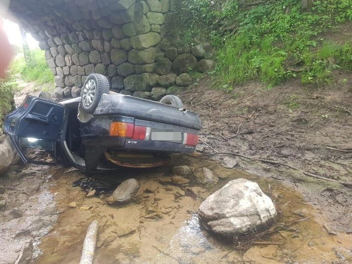 В Тверской области водитель погиб от падения с моста