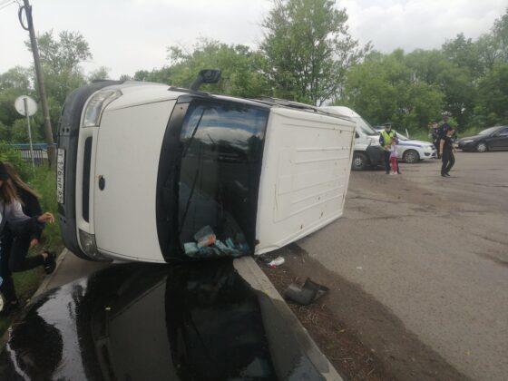 В Конаково пьяный водитель стал виновником аварии