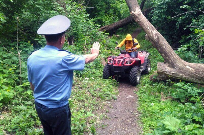 В Конаковском районе проверяют мотовездеходную технику