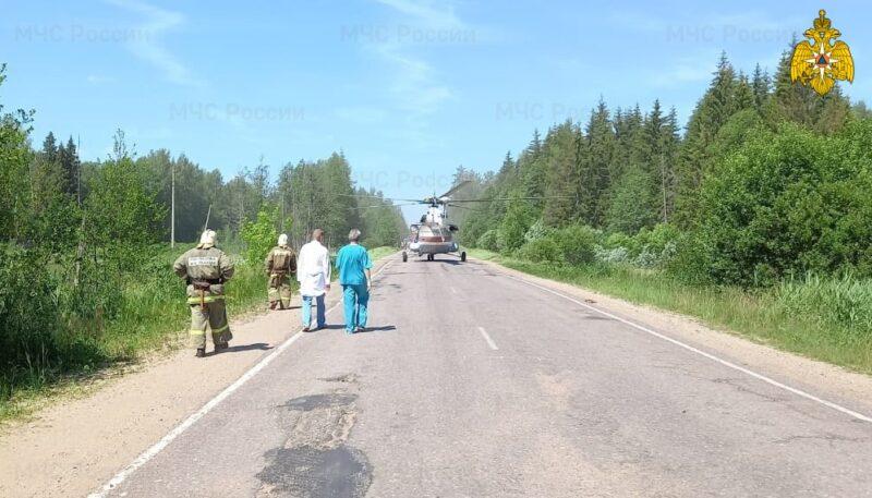 В Тверской области четверо мужчин попали в аварию