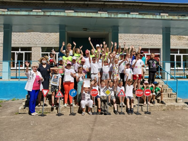 В Конаковском районе школьники участвовали в соревнованиях на знание правил дорожного движения