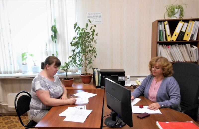 Первый в 2021 году соцконтракт оформила многодетная мама из Калязина