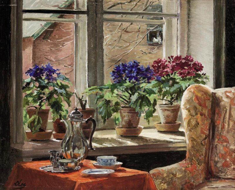 Цветочная выставка с воспоминаниями о детстве открылась в Тверском ботаническом саду